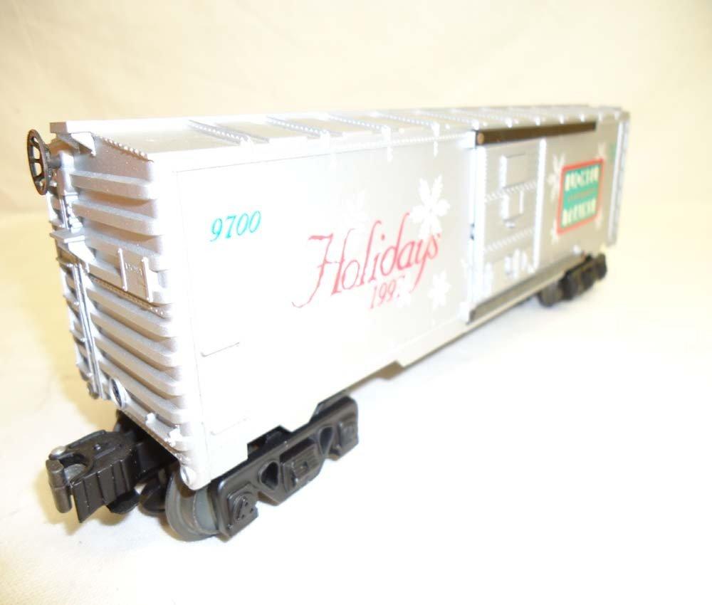 81: ABT: Lionel #16776 1997 Holiday Rail Sounds Box Car - 5