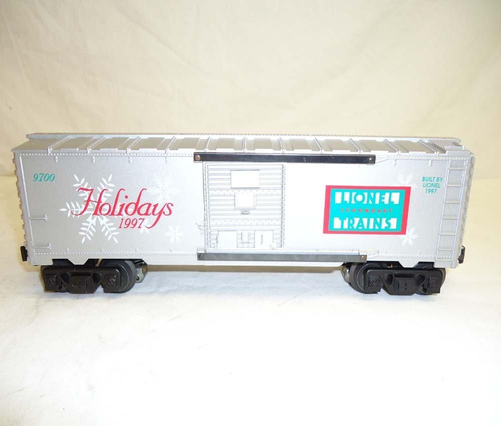 81: ABT: Lionel #16776 1997 Holiday Rail Sounds Box Car - 6
