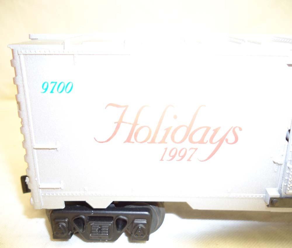 81: ABT: Lionel #16776 1997 Holiday Rail Sounds Box Car - 7