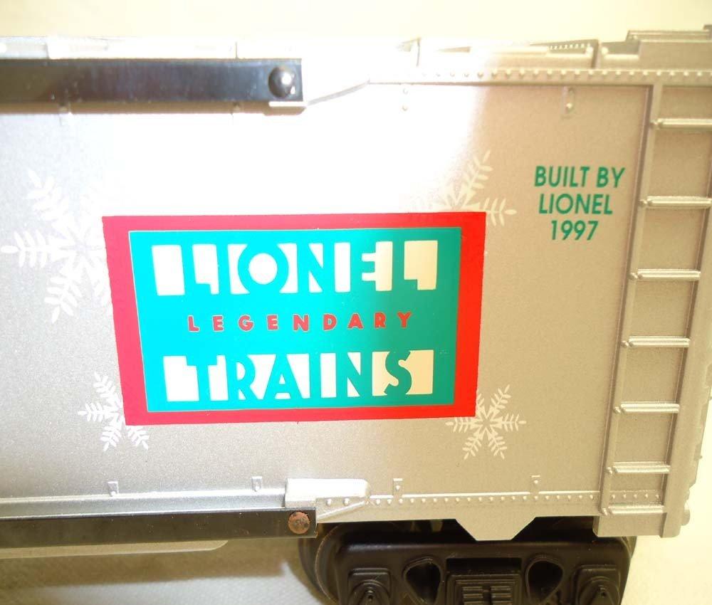 81: ABT: Lionel #16776 1997 Holiday Rail Sounds Box Car - 8