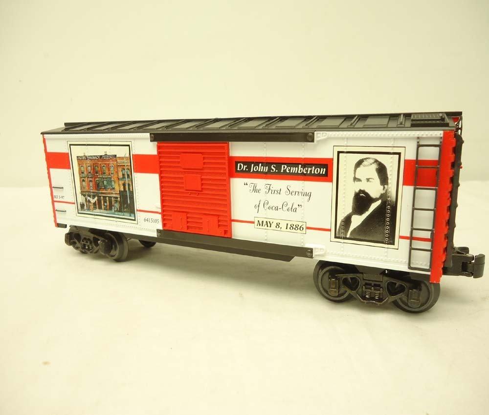 253: ABT: Mint K-Line #K641-5105 QVC Coca Cola Box Car/ - 2
