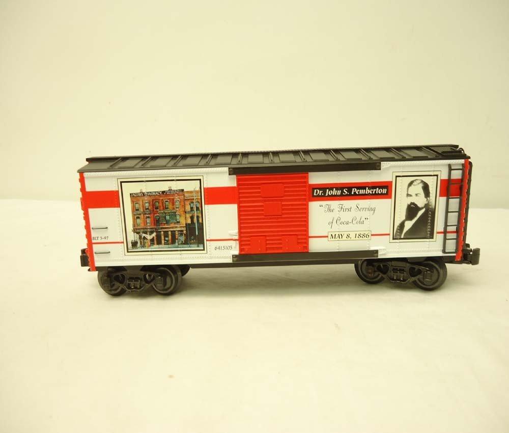 253: ABT: Mint K-Line #K641-5105 QVC Coca Cola Box Car/ - 3