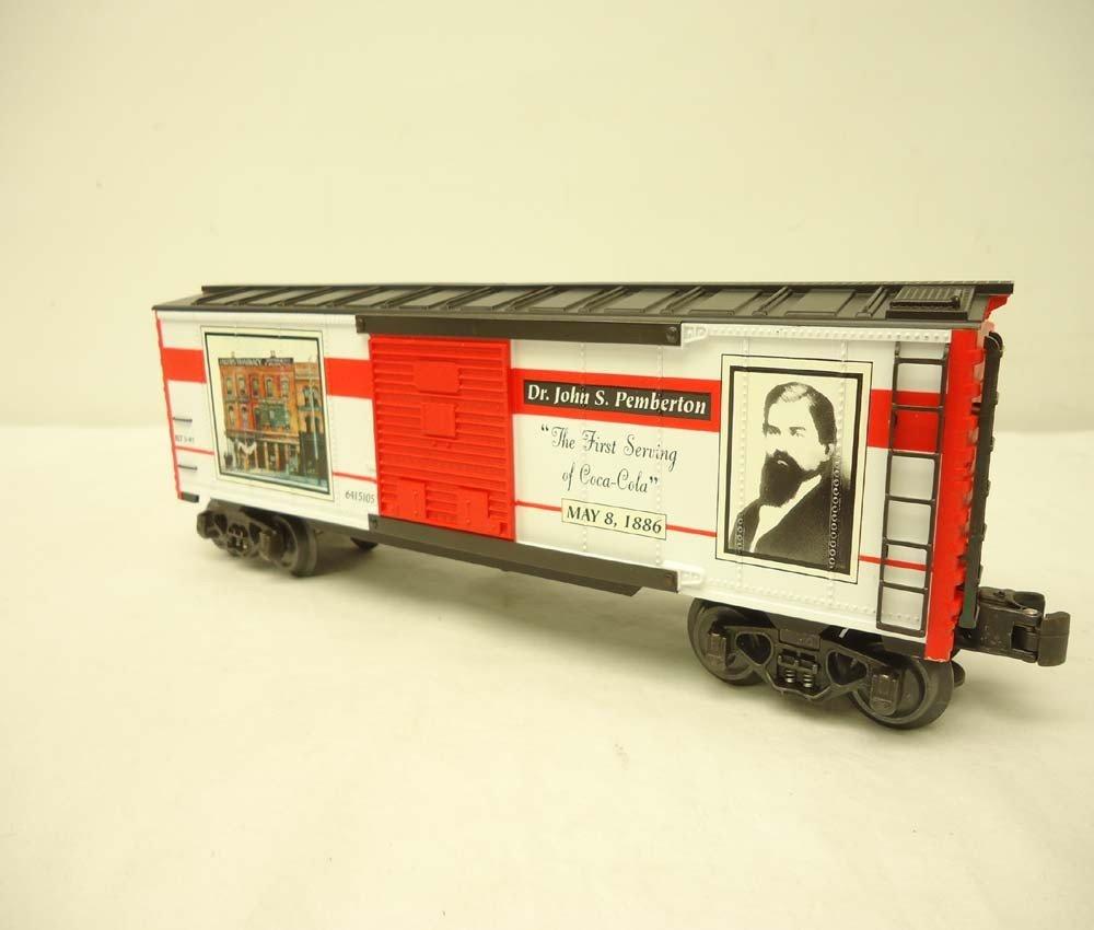253: ABT: Mint K-Line #K641-5105 QVC Coca Cola Box Car/ - 5