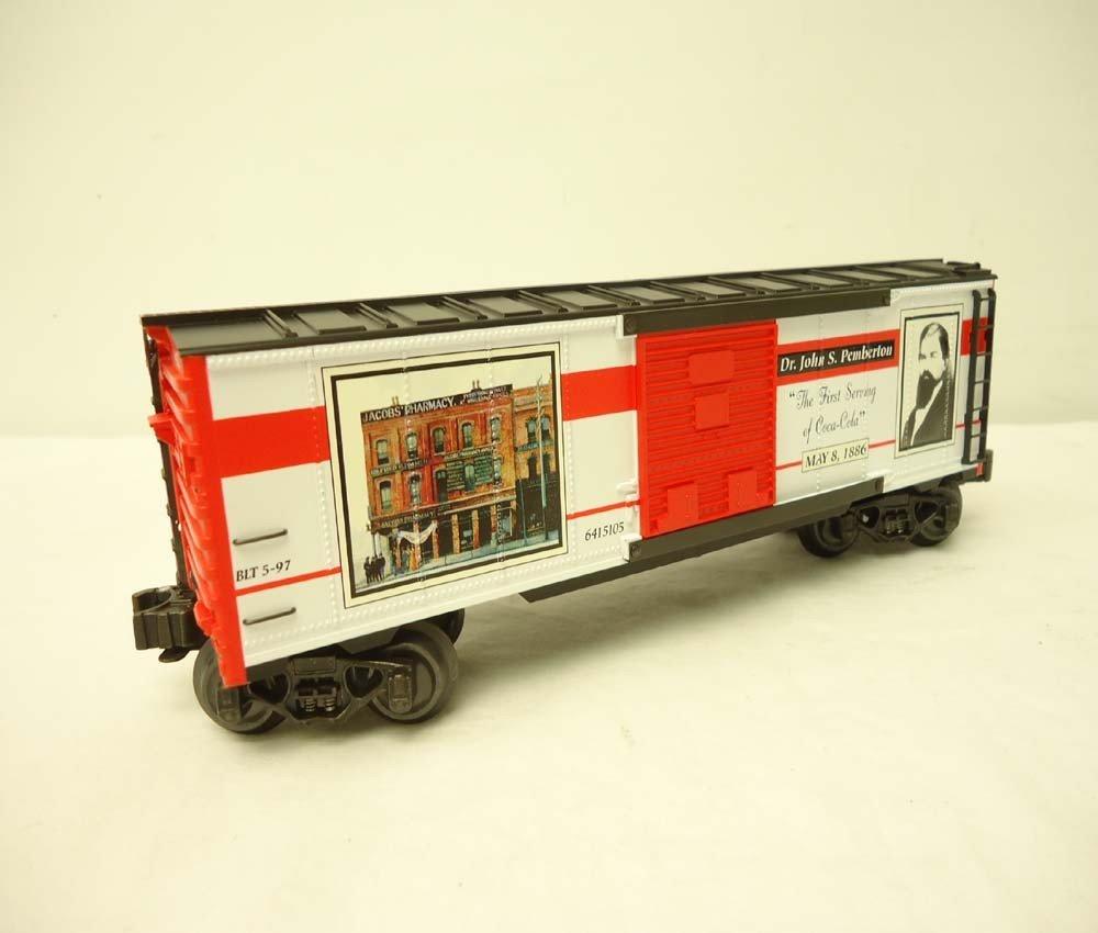 253: ABT: Mint K-Line #K641-5105 QVC Coca Cola Box Car/ - 6