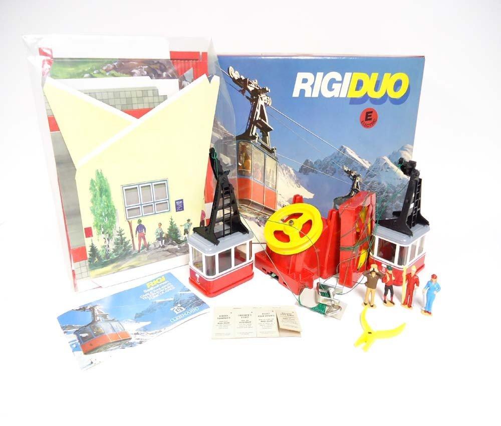 2: ABT: LGB G Scale: #9000 Rigiduo Cable Car Set/OB