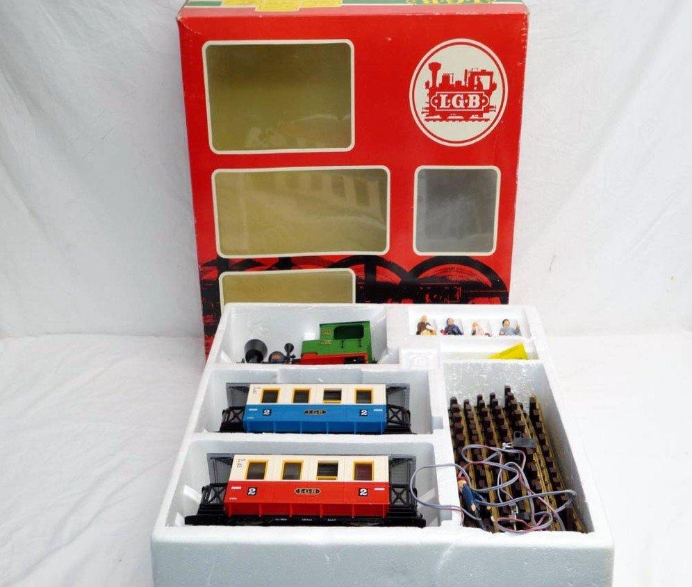 20: ABT: LGB G Scale: #20301 Passenger Train Set/OB