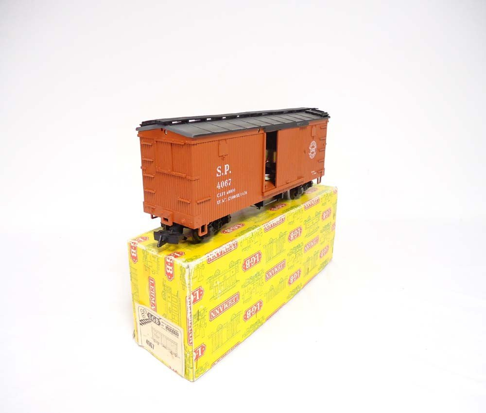 21: ABT: LGB G Scale: #4067 SP Box Car/OB