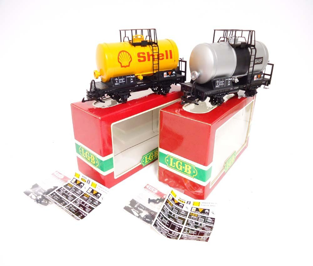 23: ABT: LGB G Scale: #4040s/4040C Tankers/OBs