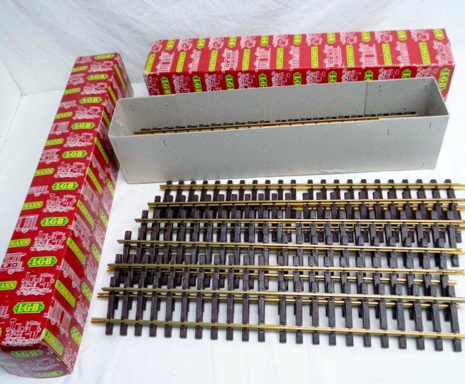 33: ABT: LGB G Scale: 2 #12x1060 600mm Straight Track/O