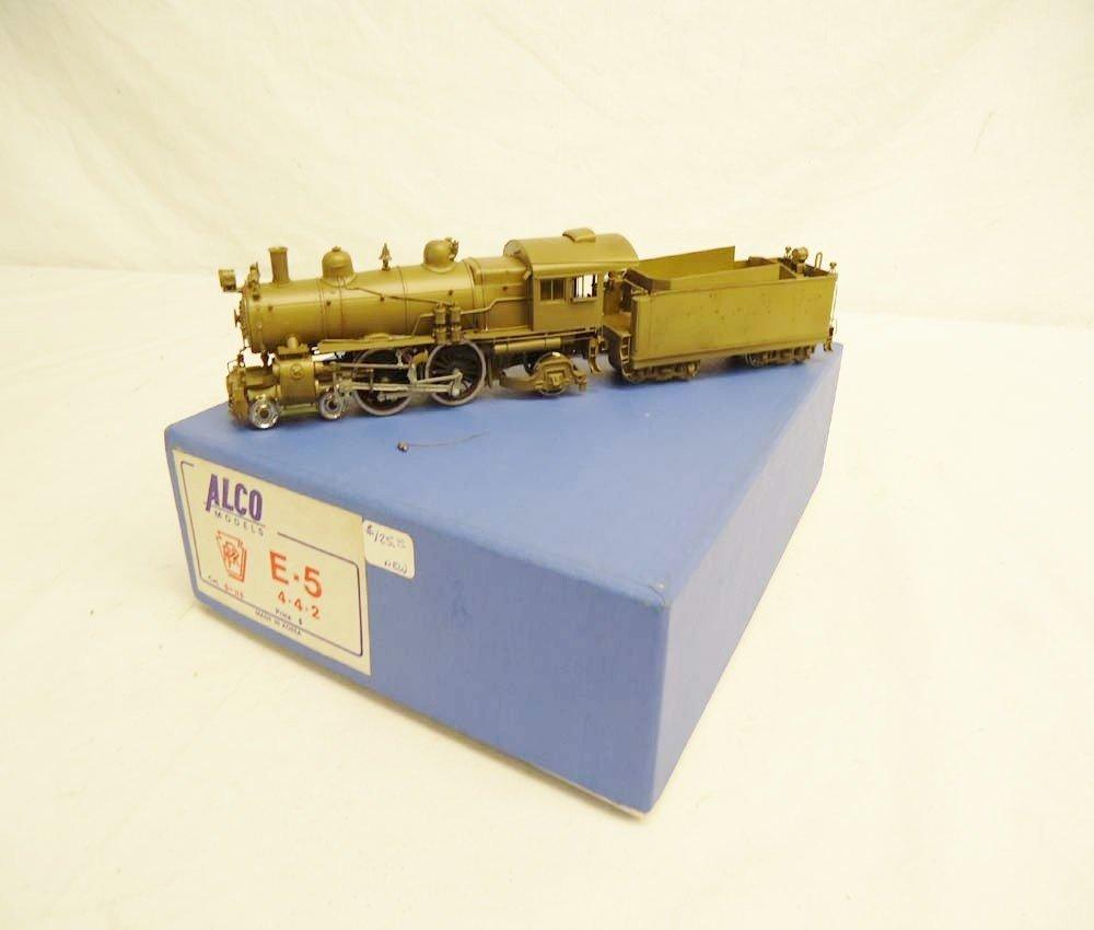 300: ABT: Alco HO Brass: #S-115 E-5 4-4-2 Steam Engine