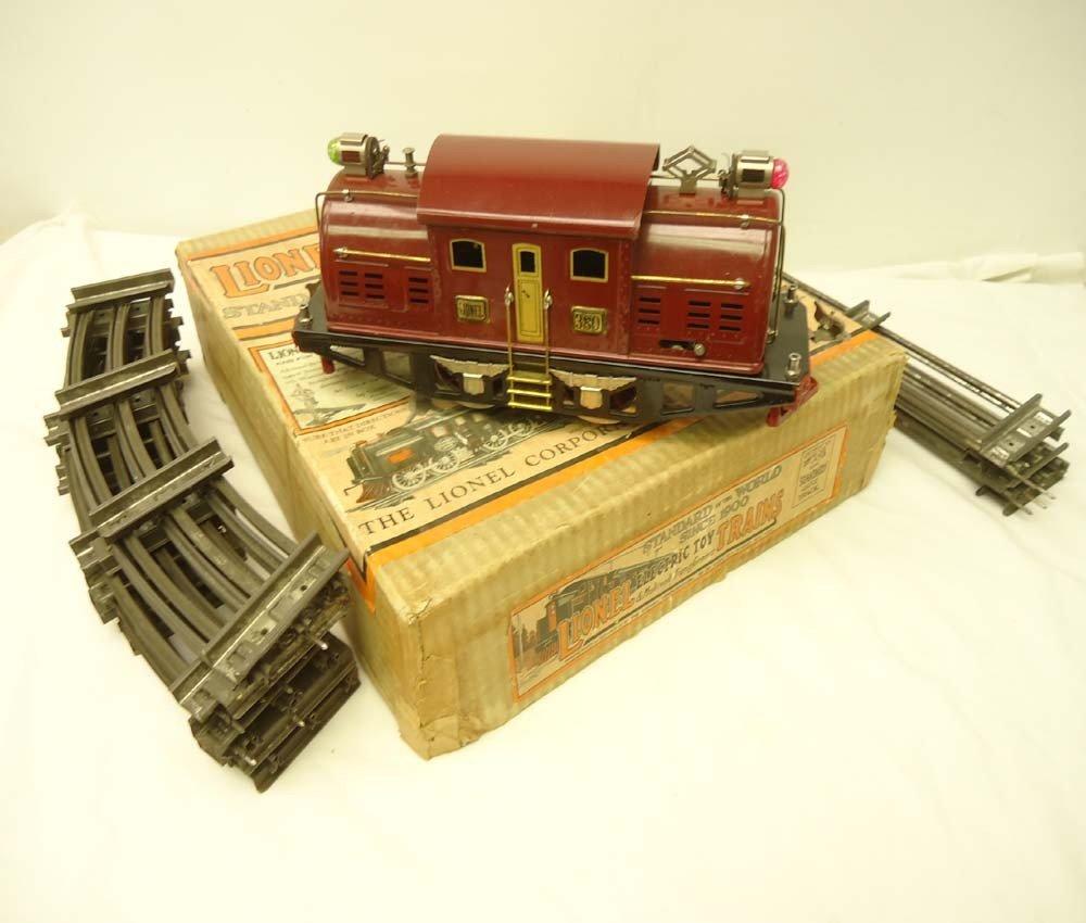 1: ABT: Lionel Standard Gauge #380 Maroon Electric/Rare