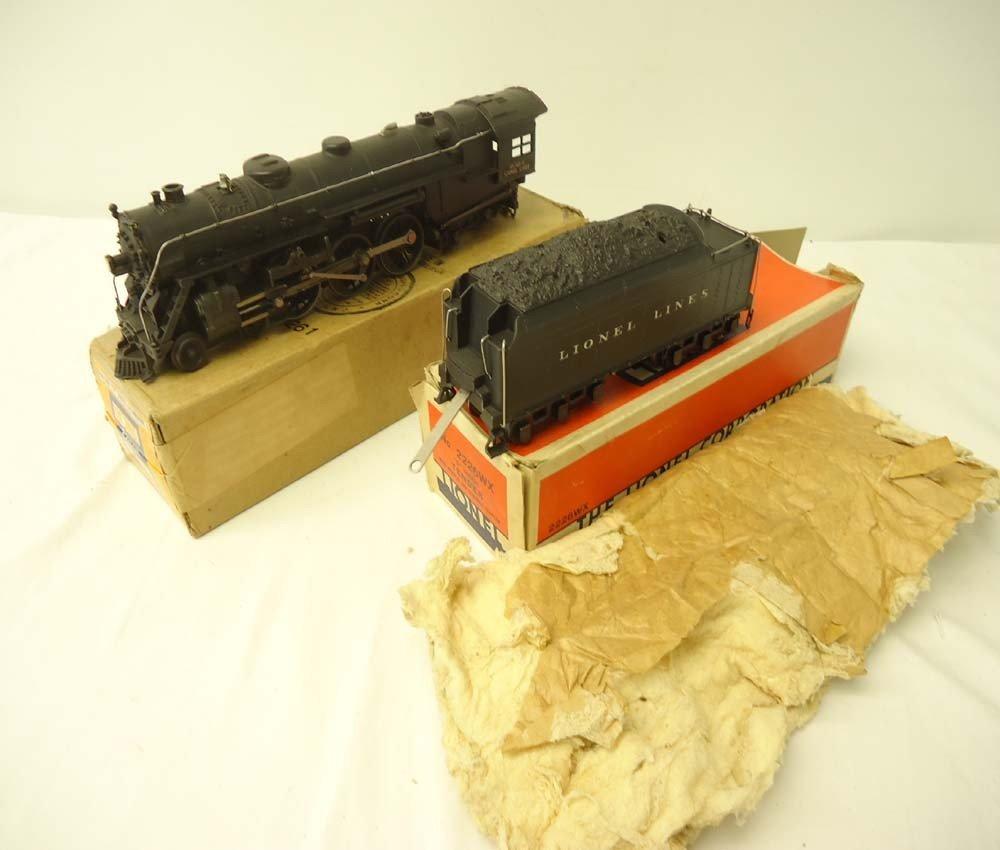 10: ABT: Nice Lionel #763E Diecast Hudson Engine & #222