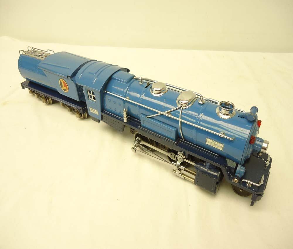 12: ABT: Lionel #263E/263T Blue Comet Steam Engine & Te