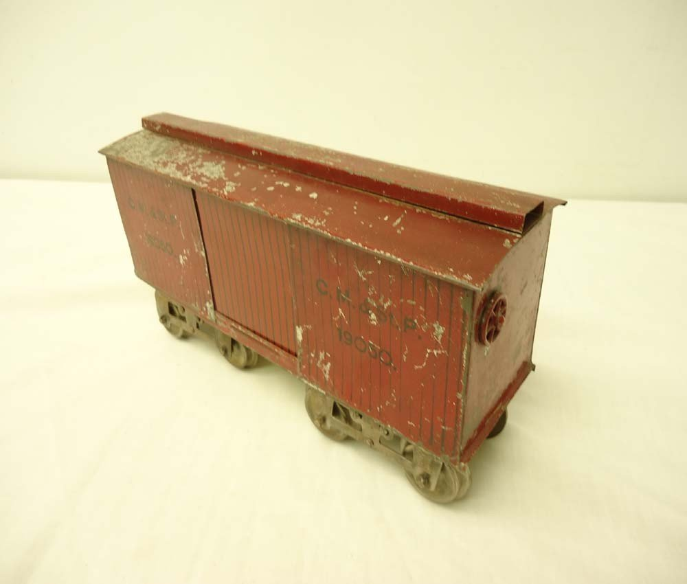 13: ABT: Rare Early Lionel Standard Gauge #14 Red Box C