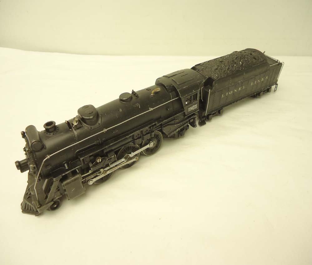 21: ABT: Lionel #225E/2235W Black Steam Engine & Tender