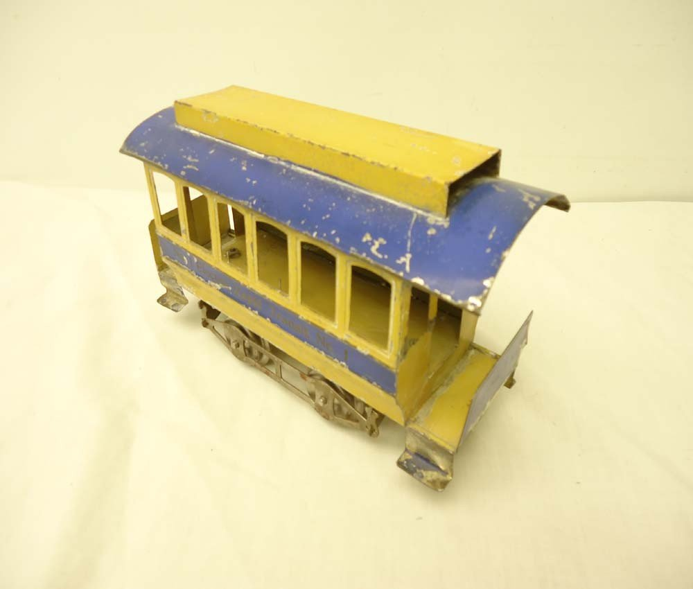 70: ABT: Great Early Lionel #1 Non-Motor Trolley/Traile