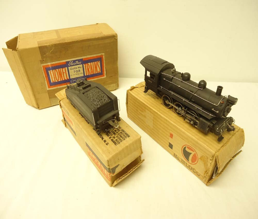100: ABT: Incredible Lionel #708 Scale Switcher Set w/M