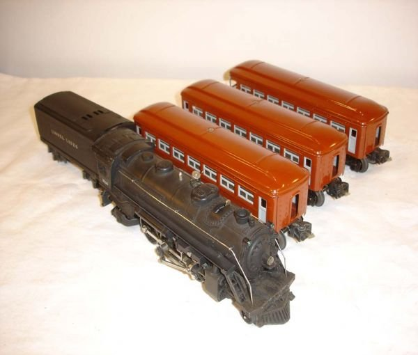 6: ABT: Lionel #1666/1689T w/#2642/2642/2643 Brown Cars