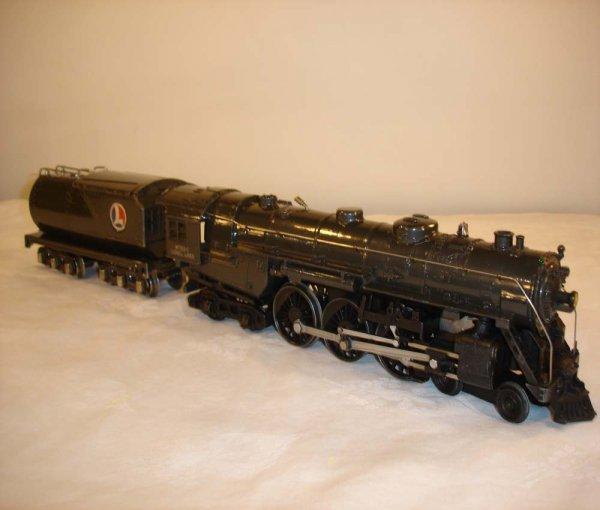 10: ABT: Lionel #763E/#2263W Gray Hudson & Tender