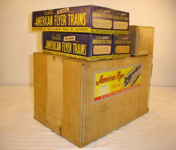 13: ABT: Great AF O Gauge #4104 Crusader Boxes