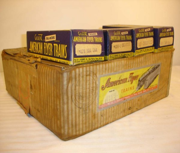 17: ABT: Great AF O Gauge #4113 Yard King Boxes