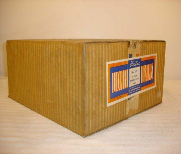 19: ABT: Brick Lionel #839 O Gauge 1941 Set Box