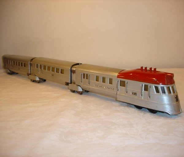20: ABT: Lionel #616 Red Top Flying Yankee Set