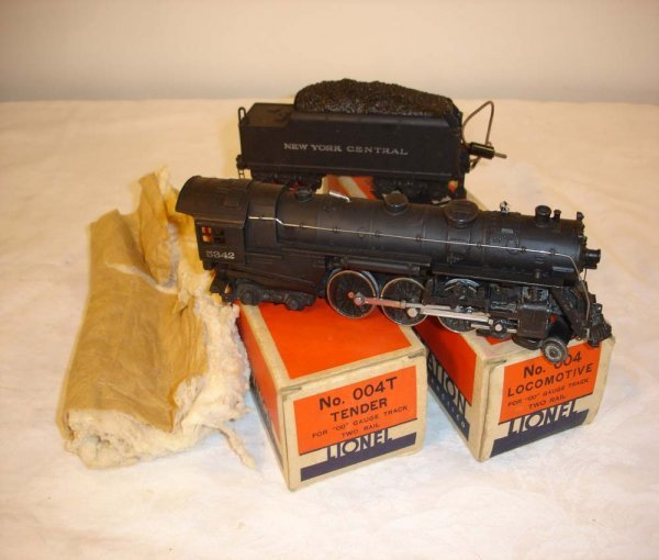 21: ABT: Lionel OO #004/004T Two Rail Hudson/OBs+