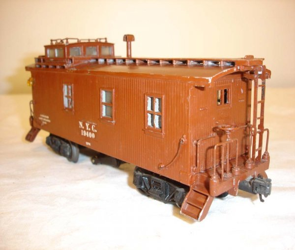 24: ABT: Lionel #717K Scale NYC Caboose