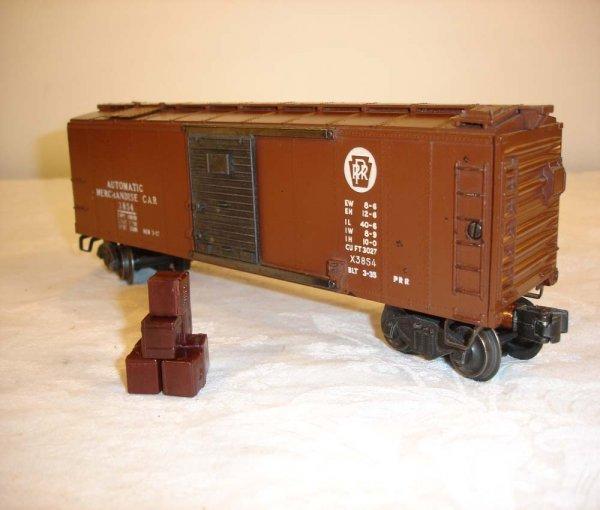 253: ABT: Lionel #3854 Pennsylvania Merchandise Car