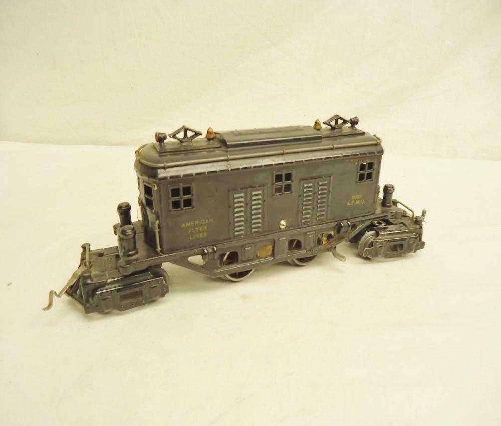 1: ABT: Scarce AF O Gauge #3020 Black 4-4-4 Electric