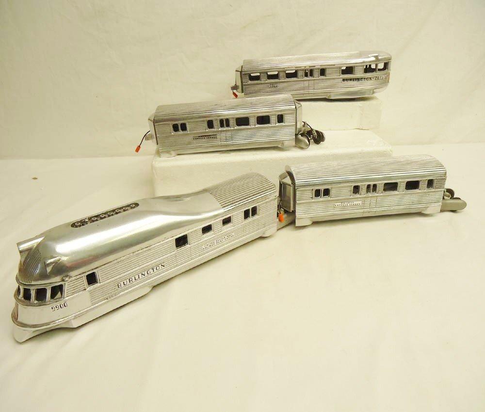 5: ABT: AF Type 4-Unit Silver Cast Streamline Passenger