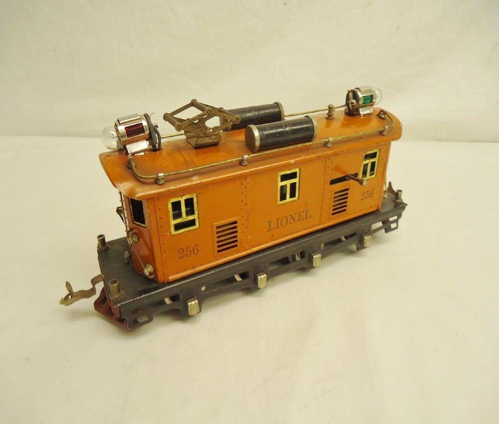 10: ABT: Lionel #256 Orange Electric/Rubber-Stamped Let
