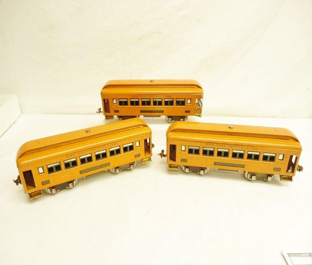 11: ABT: Lionel #710 (2) & #712 Orange Passenger Cars