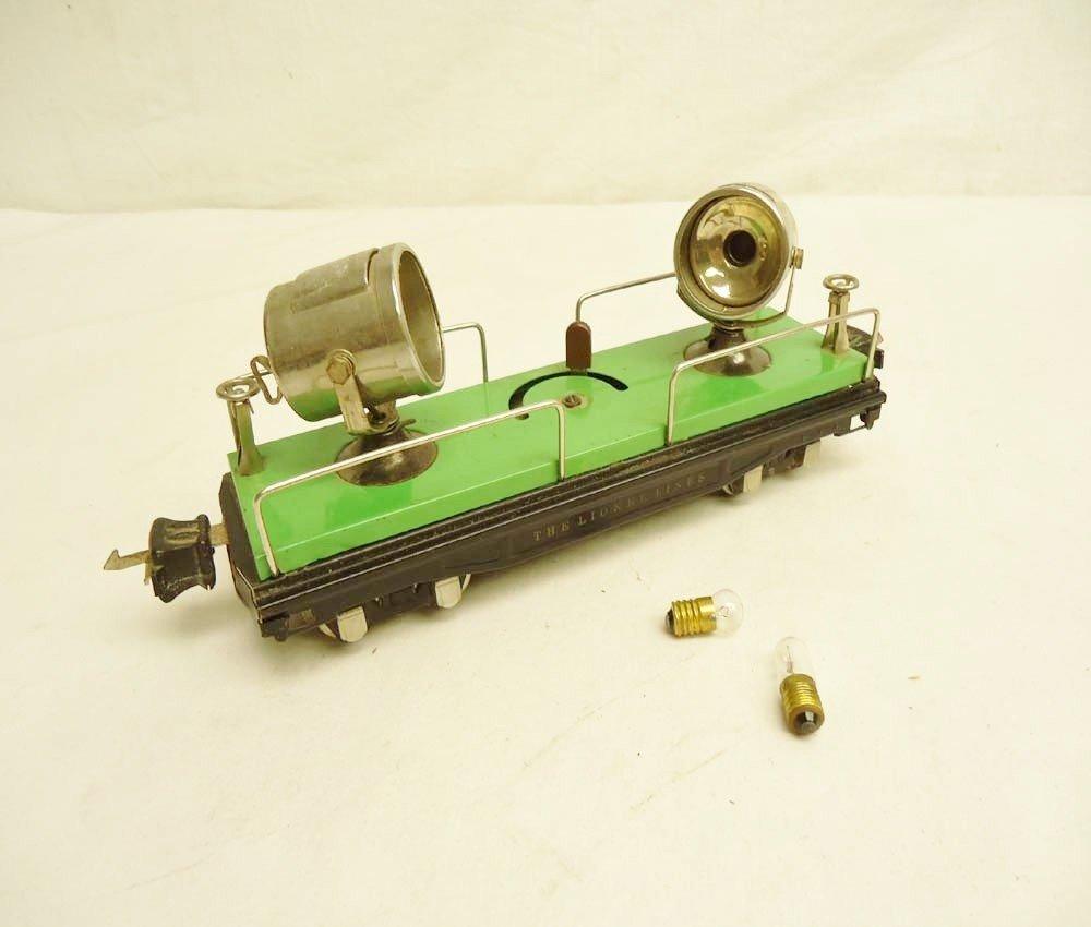 18: ABT: Lionel #820 Floodlight Car/Nickel Trim