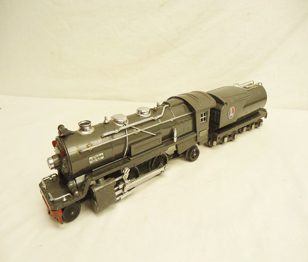 20: ABT: Lionel Gunmetal #263E/263W Steam Engine & Tend
