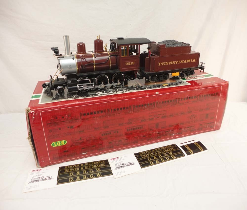 210: ABT: LGB G Scale: #22198 PA Steam Engine and Tende