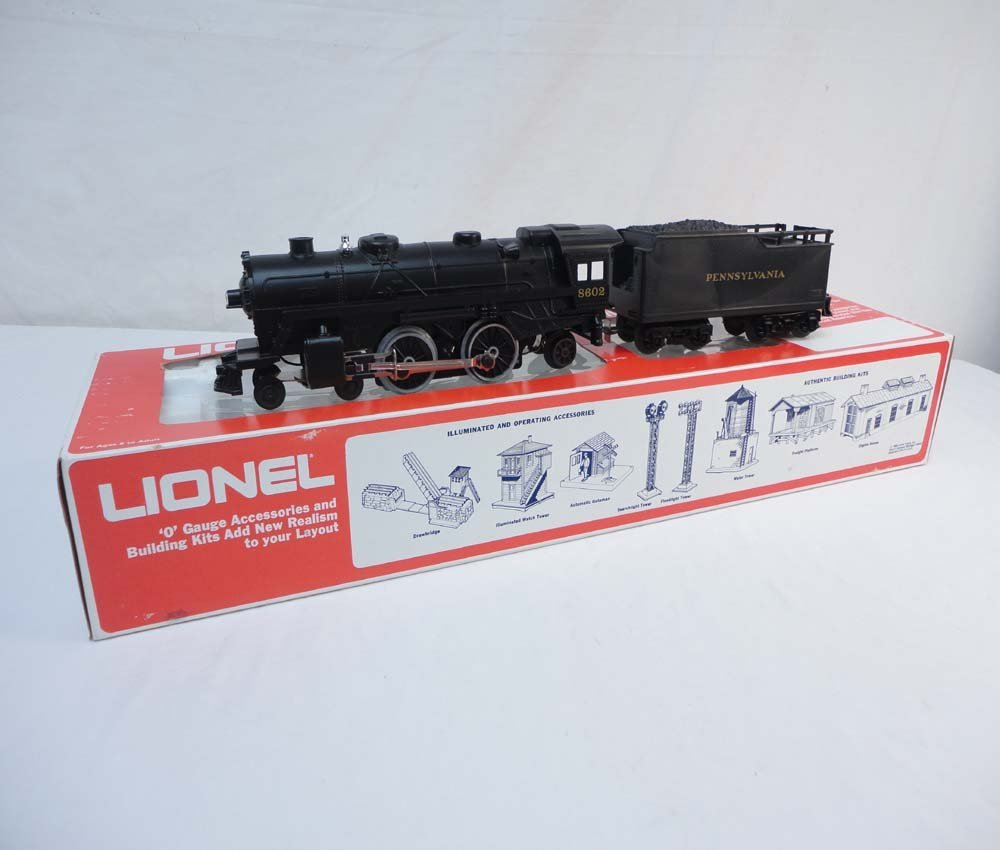 2: ABT: Mint Lionel #18602 Pennsylvania 4-4-2 Steam Eng