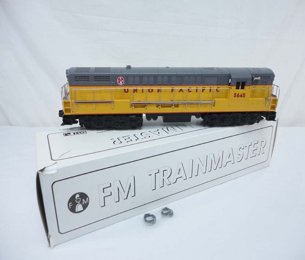 4: ABT: QSI #5645 Union Pacific FM Diesel Engine/OB