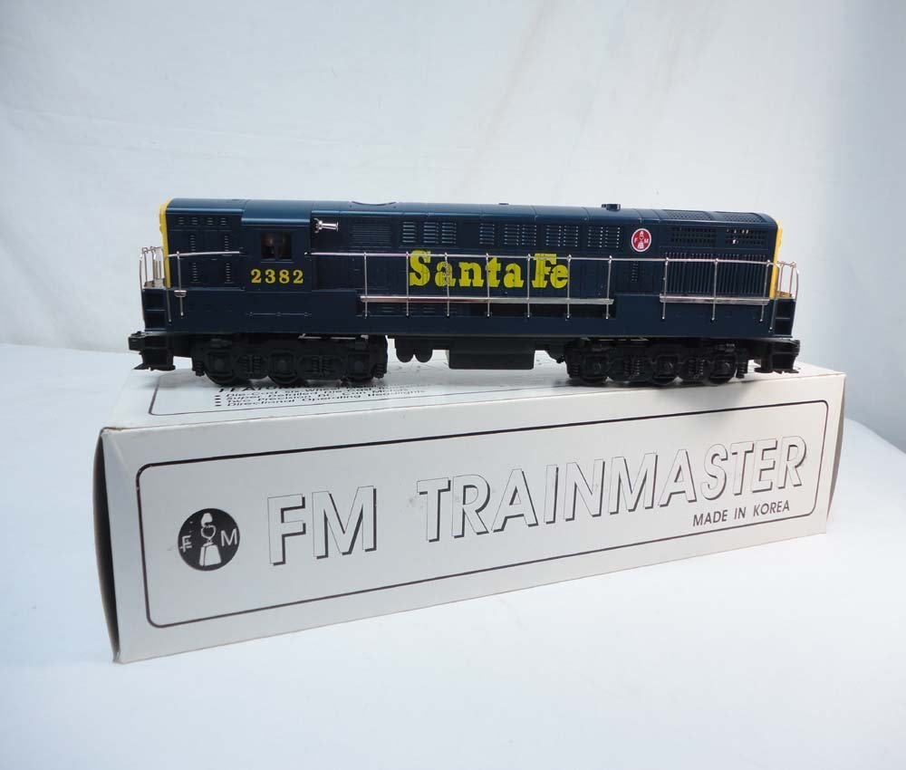 13: ABT: QSI #SA-1010 Santa Fe FM Diesel Engine/OB