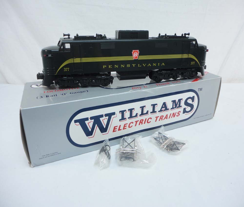 18: ABT: Williams #377 Green Pennsylvania EP-5 Electric
