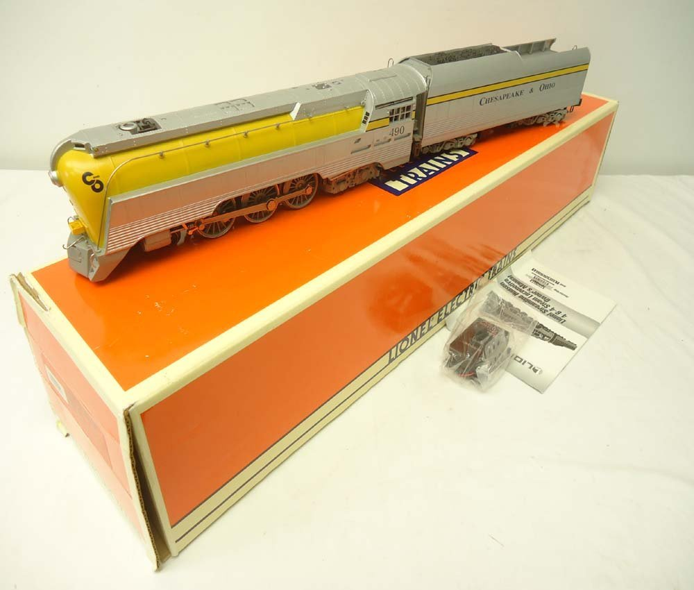 180: ABT: Lionel #18043 Semi-Scale C&O Streamline Steam