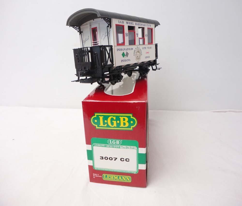 13: ABT: LGB G Scale: #3007CC Dining Car/OB