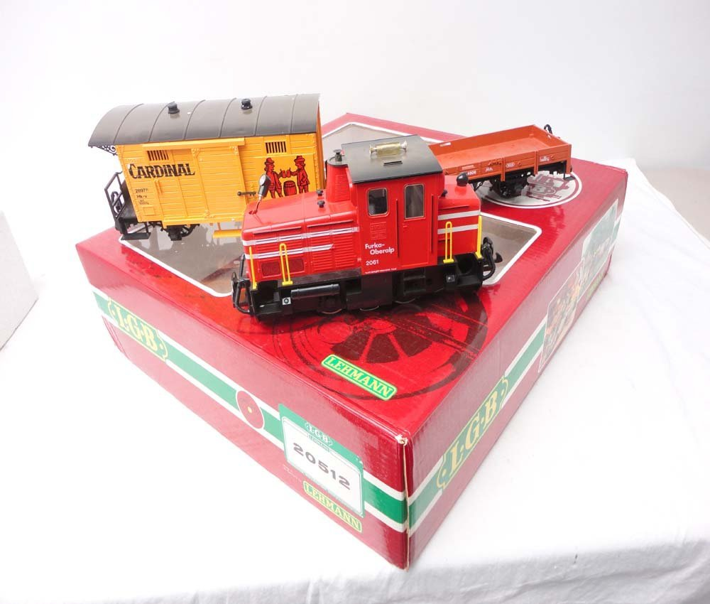 18: ABT: LGB G Scale: #20512 Incomplete Red Diesel Frei