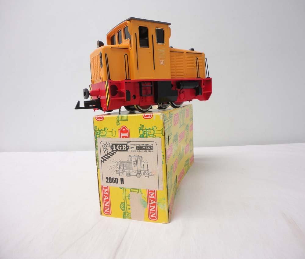19: ABT: LGB G Scale: #2060H Orange Diesel Engine/OB
