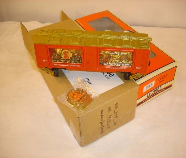 300: ABT: Mint Lionel #52339 2004 TCA Pgh Banquet Car w