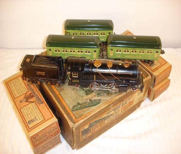 309: ABT: Nice Lionel #236 Steam Passenger Set/OB+
