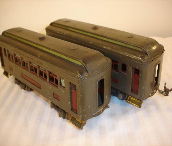311: ABT: Rare Lionel #605/605 Gray w/Apple Green Clere