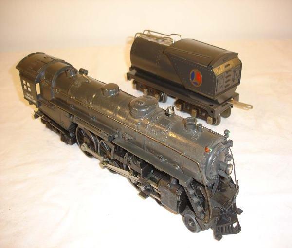 320: ABT: Lionel #763E/#2263W Gunmetal Hudson