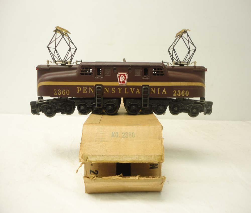 1: ABT: Lionel #2360 Pennsylvania Tuscan Solid-Stripe G
